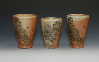 Chicken Tumbler Trio